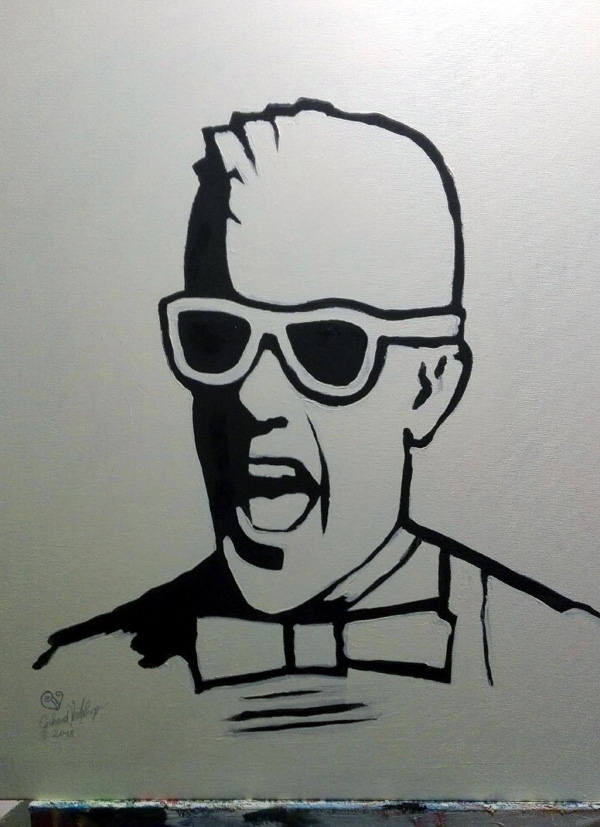 Max Headroom Portrait
